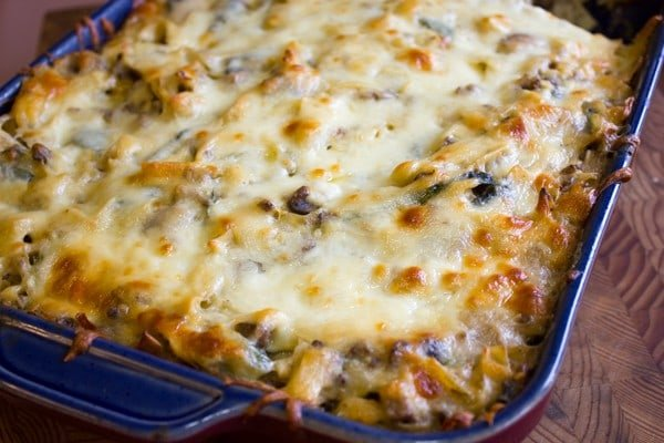 Baked Beef and Zucchini Stroganoff-3