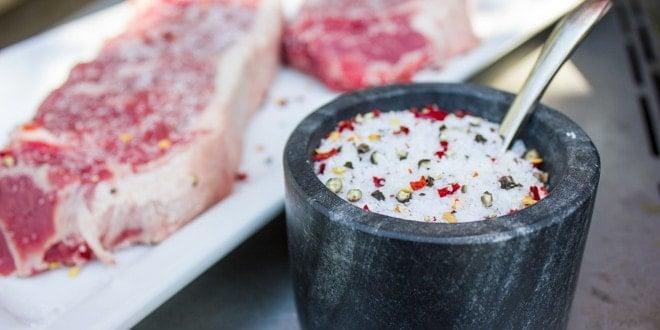 Simple Steak Salt Rub Perfect For Grilling Any Steak