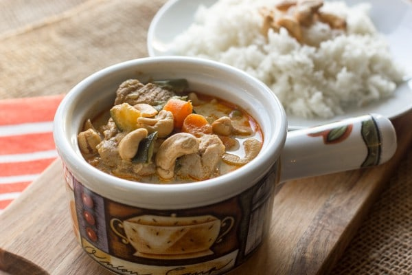 Thai Pork and Cashew Red Curry-2