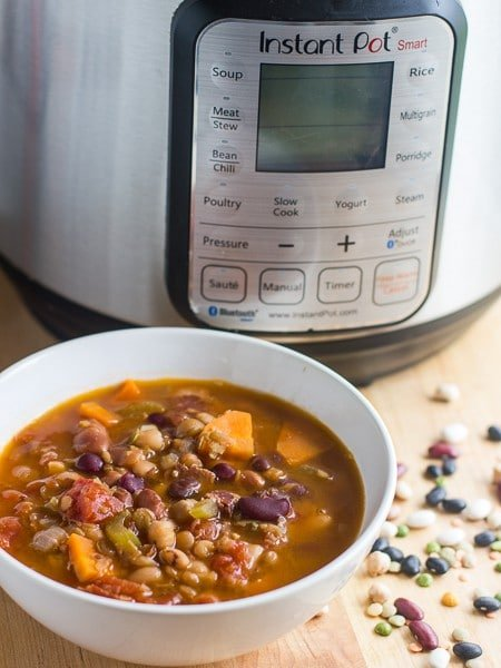 Bean Soup Pressure Cooker Instant Pot