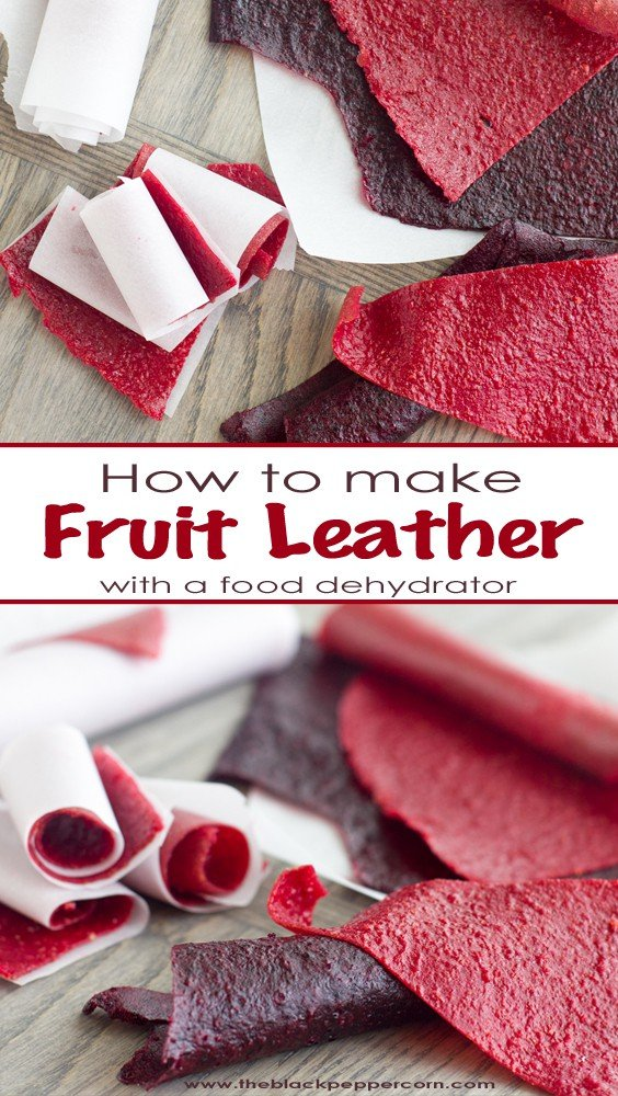 How to Make Fruit Leather with a Food Dehydrator Homemade roll-ups