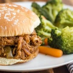 Pulled Chicken Pressure Cooker Instant Pot Sliders