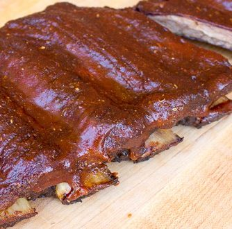 Smoking Beef Ribs Recipe Back