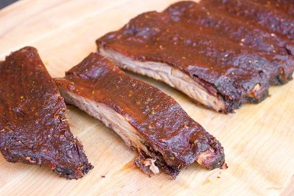 Smoking Beef Ribs Recipe Back