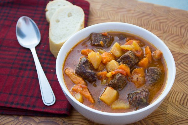 Beef Stew with Smoked Stewing Beef