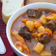 Smoked Beef Stew