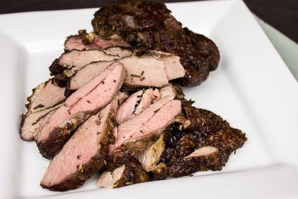 Smoked Leg of Lamb Recipe - Boneless