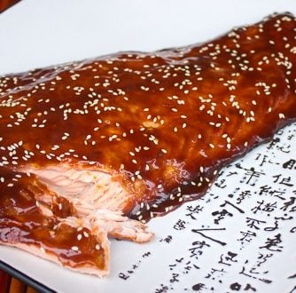 Smoked Salmon with Orange Hoisin Glaze-3