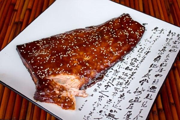 Smoked Salmon with Orange Hoisin Glaze-3