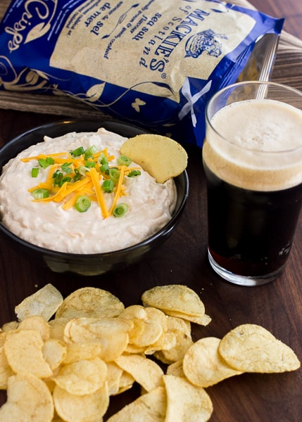 Beer and Cheese Chip Dip