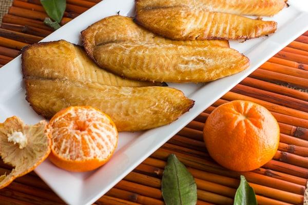 Tangerine Hoisin Smoked Tilapia