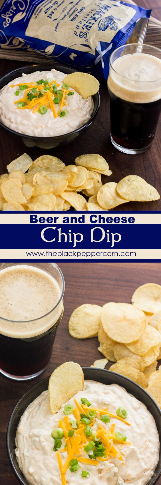 Beer and Cheese Chip Dip recipe