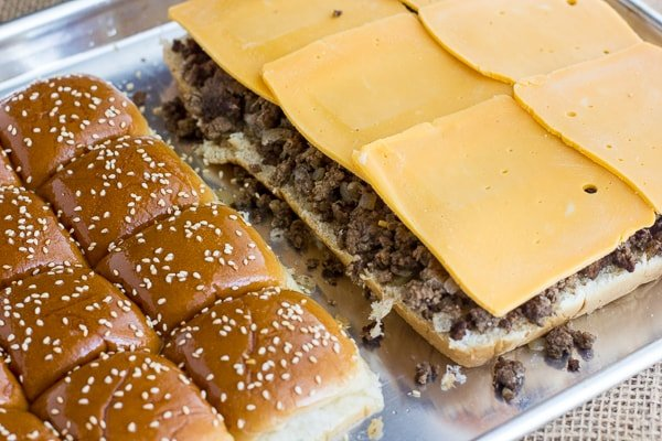 Big Mac Sliders Little Macs