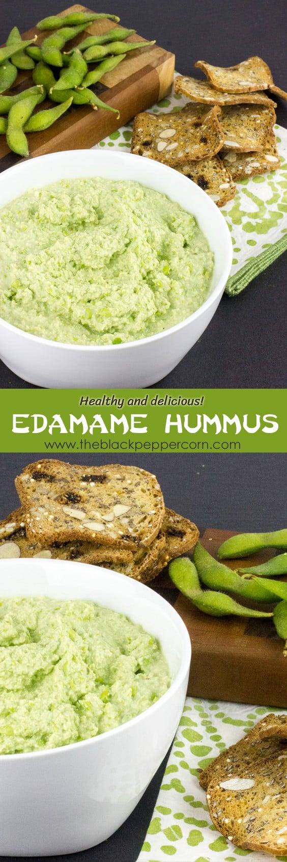 Edamame Hummus Dip Recipe How to Make