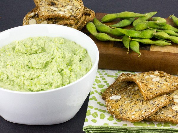Edamame Dip Hummus Recipe - How to Make