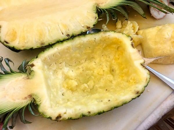 Jerk Smoked Tilapia Pineapple Pilaf