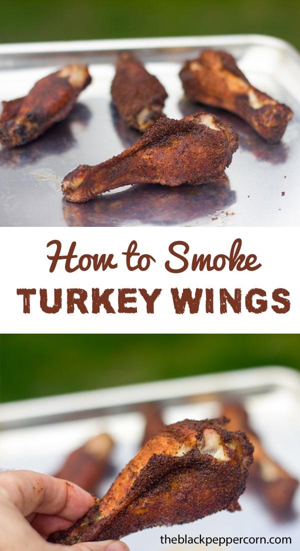 How to Smoke Turkey Wings Recipe