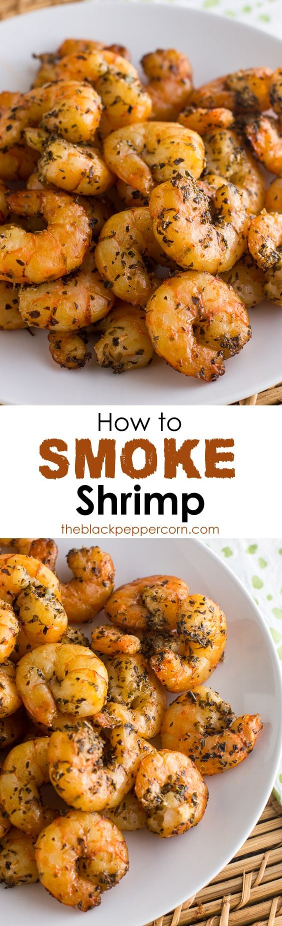 How to Smoke Shrimp in an Electric Smoker
