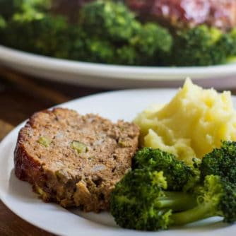 Easy meatloaf Recipe with Ground beef and ground pork