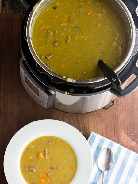 instant pot pea soup slow cooker crock pot pressure cooker