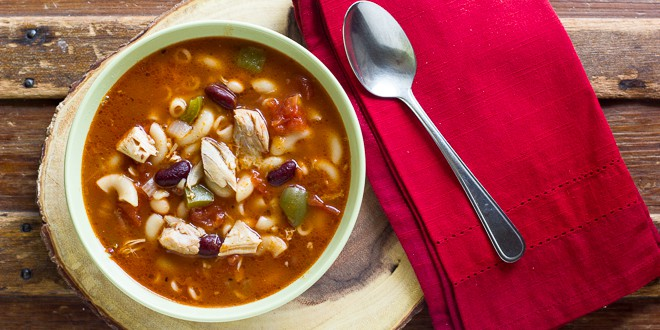 Image result for chicken soup with beans