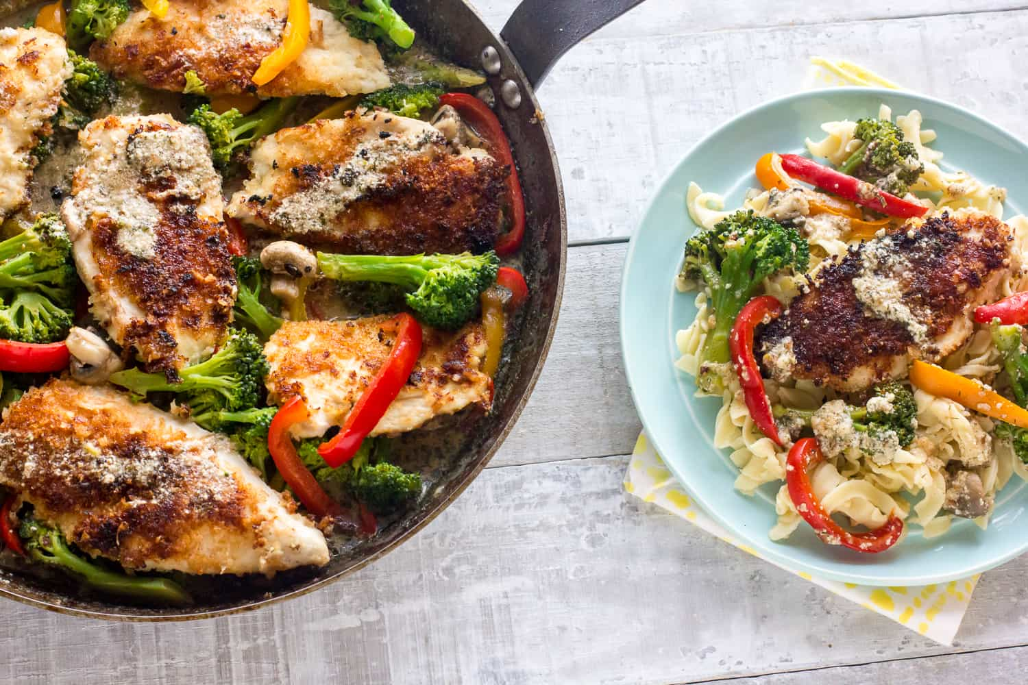 Chicken cutlets for a couple