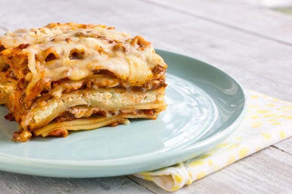 Lasagna With Beef And Ricotta