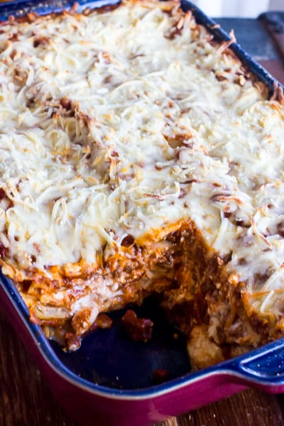 Lasagna Recipe easy simple classic and best made with ricotta cheese and beef