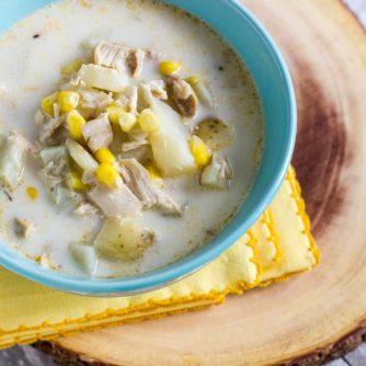 Chicken Corn and Potato Soup