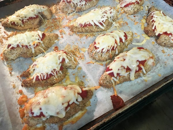 Chicken Parmesan Oven Baked