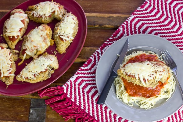 Oven Baked Chicken Parmigiana Recipe