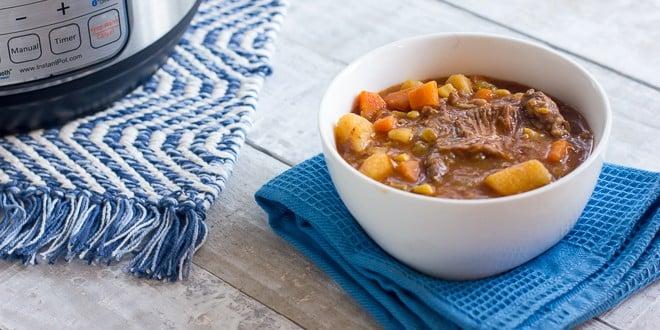 Pressure Cooker Beef Stew | Award-Winning Paleo Recipes | Nom Nom Paleo®