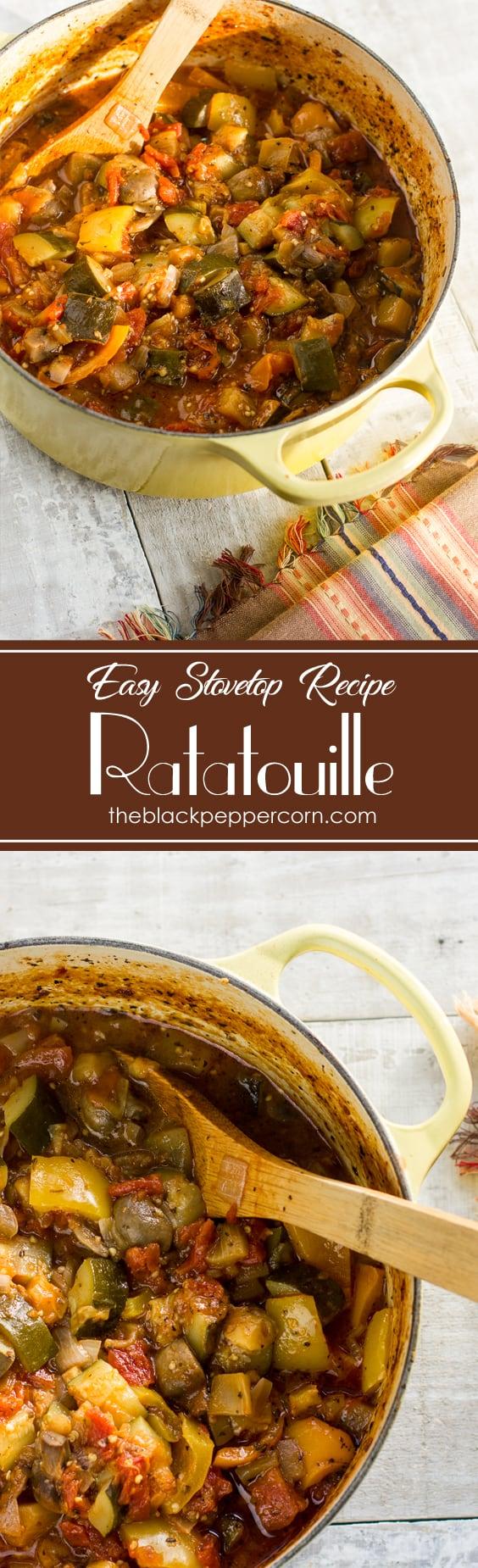 Ratatouille Recipe Dish Stovetop