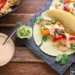 Chipotle Cream for tacos or fajitas mexican