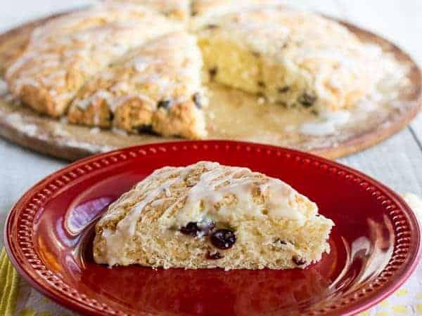 Lemon Cranberry Scone Recipe