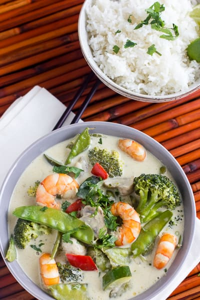Thai Shrimp Curry Green Curry Paste Recipe