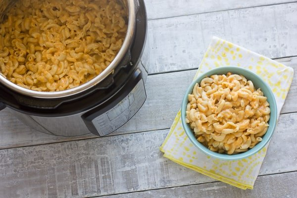 How to make macaroni and cheese in an Instant Pot recipe