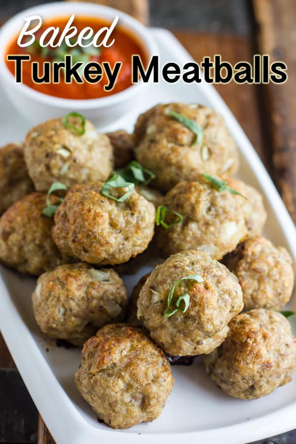 How to bake turkey meatballs in the oven recipe