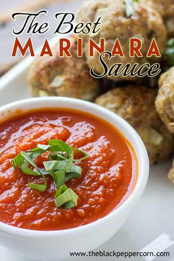 How to make this simple Italian Marinara Sauce
