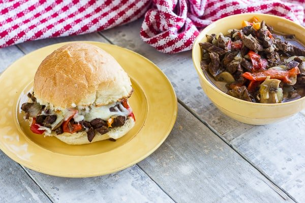 Instant Pot Philly Cheese steak Recipe