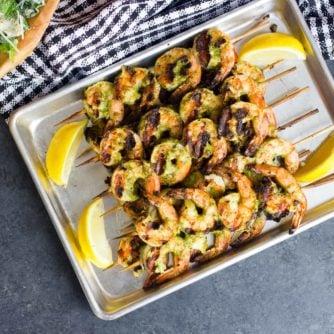 How to grill shrimp recipe