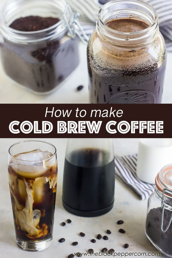 Cold Brew Coffee Maker Recipe