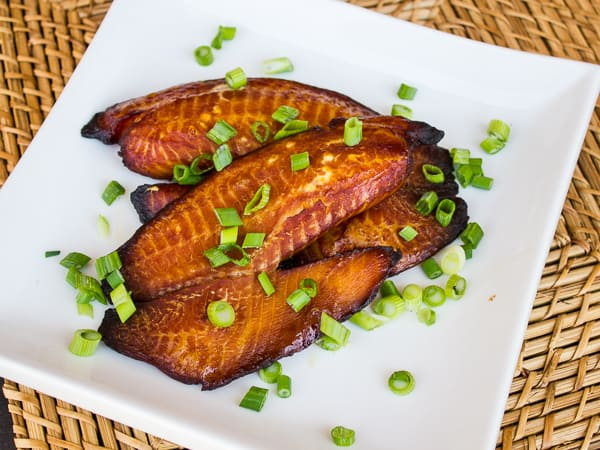 How to smoke tilapia white fish fillet
