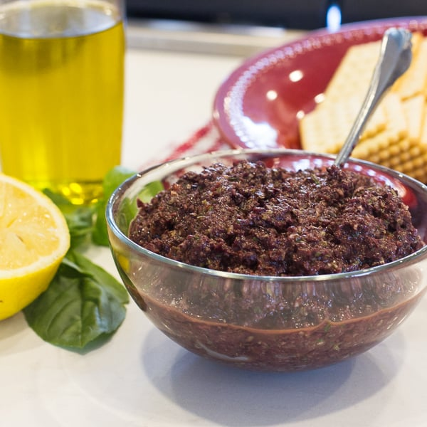 How to make olive tapenade recipe with kalamata olives