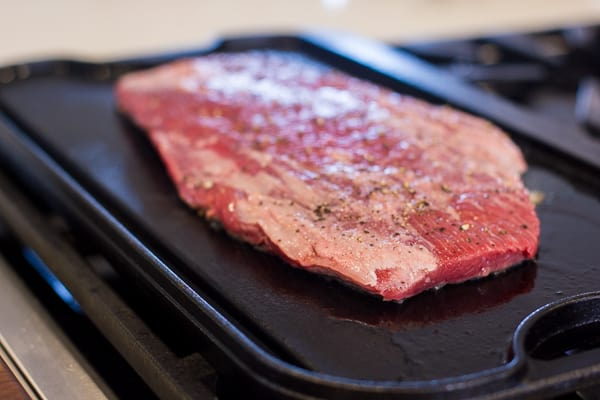 Flank steak recipe ultimate on the stove grill