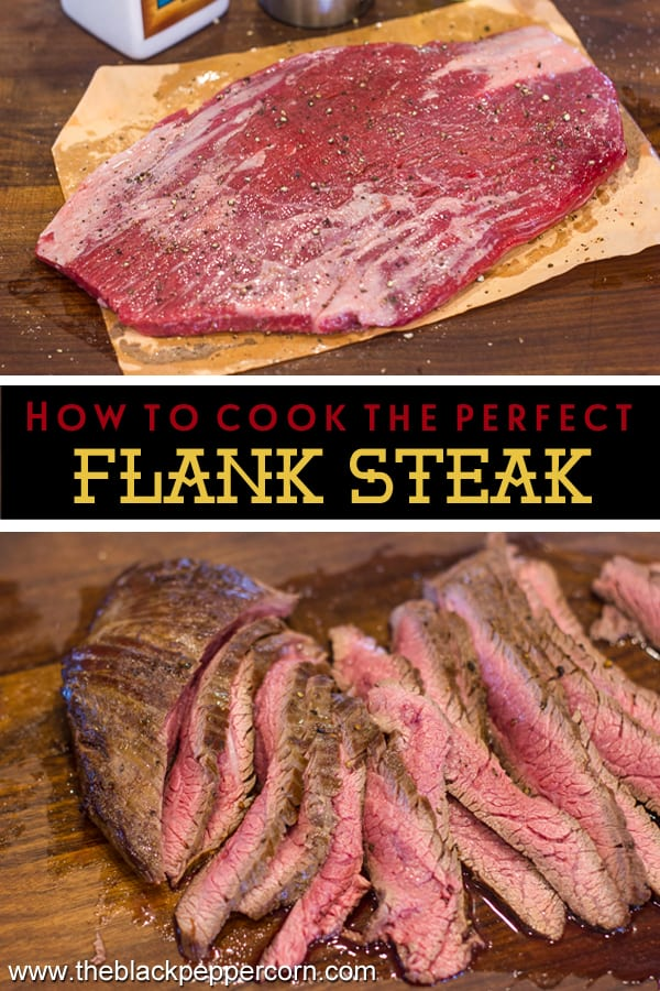Flank steak recipe ultimate on the stove grill pan sear