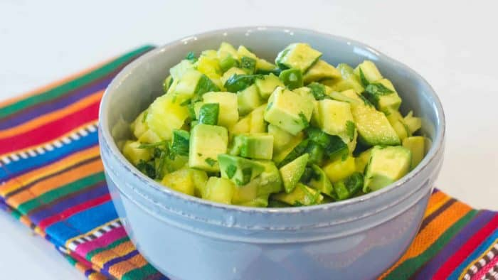 Guacamole recipe avocado jalapeno pineapple cilantro