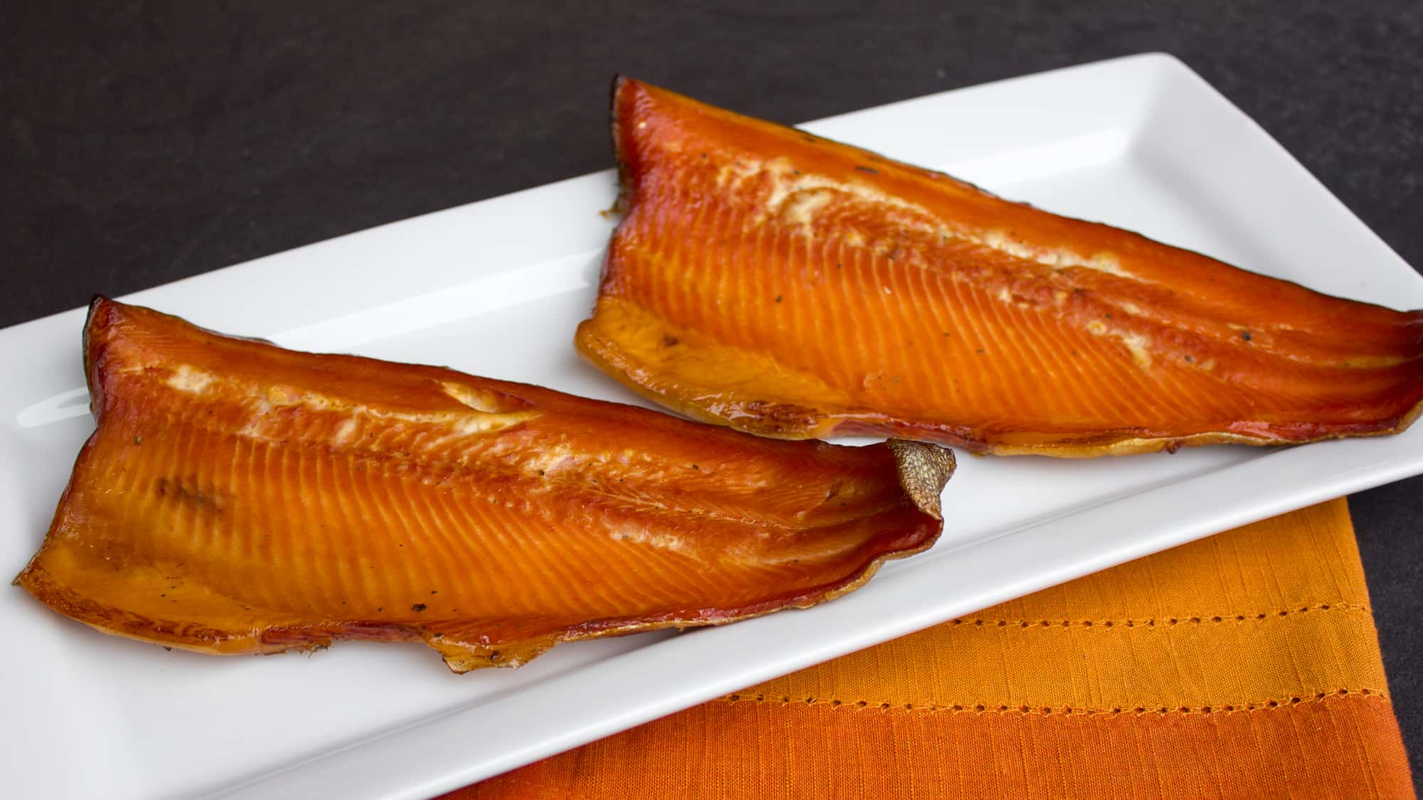 Smoked Rainbow Trout With A Wet Brine