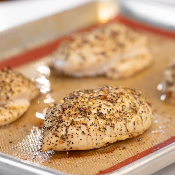 How to Cook Chicken Breast in the Oven - Boneless and Skinless