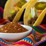 How to make taco seasoning. Easy spice mix recipe for the perfect blend to make Mexican tacos or other dishes. Great for beef, chicken, pork and seafood!